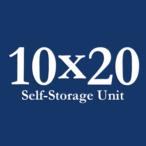 10x20 icon for Carthage Storage a self-storage rental company based in Carthage, MO.